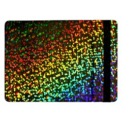 Construction Paper Iridescent Samsung Galaxy Tab Pro 12 2  Flip Case by Amaryn4rt
