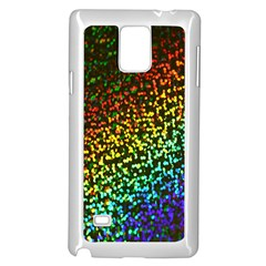 Construction Paper Iridescent Samsung Galaxy Note 4 Case (white) by Amaryn4rt