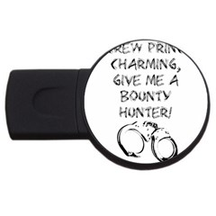 Give Me A Bounty Hunter! Usb Flash Drive Round (2 Gb) by badwolf1988store
