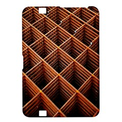 Metal Grid Framework Creates An Abstract Kindle Fire Hd 8 9  by Amaryn4rt