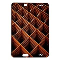 Metal Grid Framework Creates An Abstract Amazon Kindle Fire Hd (2013) Hardshell Case