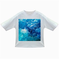 Fractal Occean Waves Artistic Background Infant/toddler T Shirts by Amaryn4rt