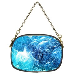 Fractal Occean Waves Artistic Background Chain Purses (two Sides)  by Amaryn4rt