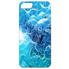 Fractal Occean Waves Artistic Background Apple Iphone 5 Classic Hardshell Case by Amaryn4rt