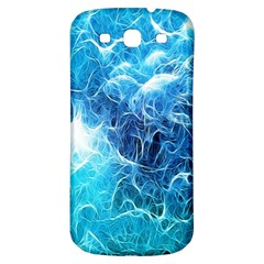 Fractal Occean Waves Artistic Background Samsung Galaxy S3 S Iii Classic Hardshell Back Case by Amaryn4rt
