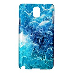 Fractal Occean Waves Artistic Background Samsung Galaxy Note 3 N9005 Hardshell Case by Amaryn4rt