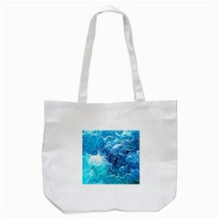 Fractal Occean Waves Artistic Background Tote Bag (white) by Amaryn4rt