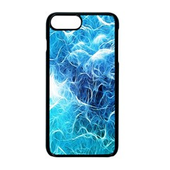 Fractal Occean Waves Artistic Background Apple Iphone 7 Plus Seamless Case (black)