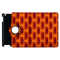 Fractal Multicolored Background Apple Ipad 3/4 Flip 360 Case by Amaryn4rt