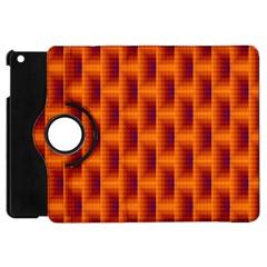Fractal Multicolored Background Apple Ipad Mini Flip 360 Case by Amaryn4rt