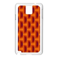 Fractal Multicolored Background Samsung Galaxy Note 3 N9005 Case (white) by Amaryn4rt
