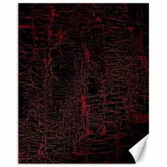 Black And Red Background Canvas 11  X 14   by Amaryn4rt