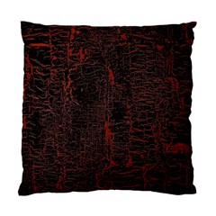 Black And Red Background Standard Cushion Case (one Side) by Amaryn4rt