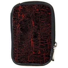 Black And Red Background Compact Camera Cases by Amaryn4rt