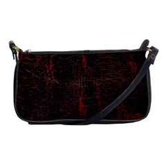 Black And Red Background Shoulder Clutch Bags by Amaryn4rt