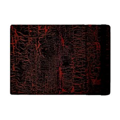 Black And Red Background Apple Ipad Mini Flip Case by Amaryn4rt