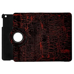 Black And Red Background Apple Ipad Mini Flip 360 Case by Amaryn4rt