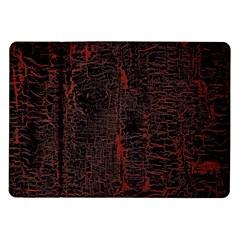 Black And Red Background Samsung Galaxy Tab 10 1  P7500 Flip Case by Amaryn4rt