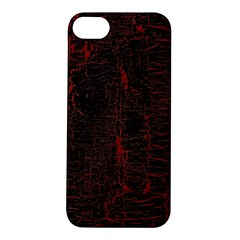 Black And Red Background Apple Iphone 5s/ Se Hardshell Case by Amaryn4rt