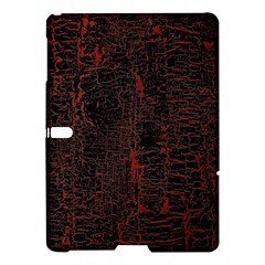 Black And Red Background Samsung Galaxy Tab S (10 5 ) Hardshell Case  by Amaryn4rt