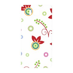 Colorful Floral Wallpaper Background Pattern Samsung Galaxy Alpha Hardshell Back Case by Amaryn4rt