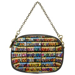 Flower Seeds For Sale At Garden Center Pattern Chain Purses (one Side)  by Amaryn4rt
