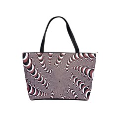 Digital Fractal Pattern Shoulder Handbags by Amaryn4rt
