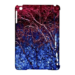 Autumn Fractal Forest Background Apple Ipad Mini Hardshell Case (compatible With Smart Cover) by Amaryn4rt