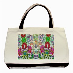 Wallpaper Created From Coloring Book Basic Tote Bag (two Sides) by Amaryn4rt
