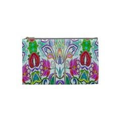 Wallpaper Created From Coloring Book Cosmetic Bag (small)  by Amaryn4rt