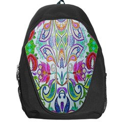 Wallpaper Created From Coloring Book Backpack Bag by Amaryn4rt