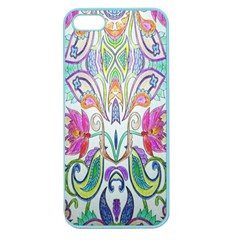 Wallpaper Created From Coloring Book Apple Seamless Iphone 5 Case (color)