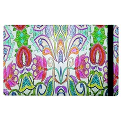 Wallpaper Created From Coloring Book Apple Ipad 2 Flip Case by Amaryn4rt