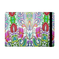 Wallpaper Created From Coloring Book Apple Ipad Mini Flip Case by Amaryn4rt