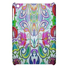 Wallpaper Created From Coloring Book Apple Ipad Mini Hardshell Case by Amaryn4rt