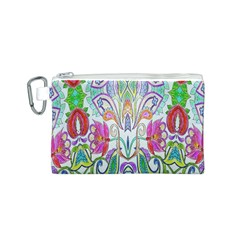 Wallpaper Created From Coloring Book Canvas Cosmetic Bag (s) by Amaryn4rt