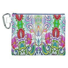 Wallpaper Created From Coloring Book Canvas Cosmetic Bag (xxl) by Amaryn4rt