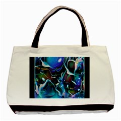 Water Is The Future Basic Tote Bag (two Sides) by Amaryn4rt