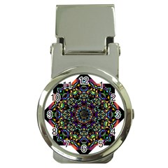 Mandala Abstract Geometric Art Money Clip Watches