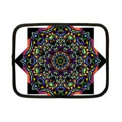 Mandala Abstract Geometric Art Netbook Case (small)  by Amaryn4rt