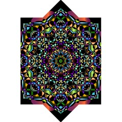 Mandala Abstract Geometric Art 5 5  X 8 5  Notebooks by Amaryn4rt