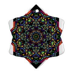 Mandala Abstract Geometric Art Ornament (snowflake) by Amaryn4rt