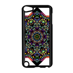 Mandala Abstract Geometric Art Apple Ipod Touch 5 Case (black) by Amaryn4rt