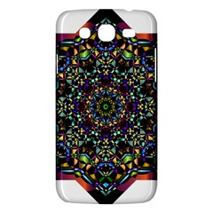 Mandala Abstract Geometric Art Samsung Galaxy Mega 5 8 I9152 Hardshell Case  by Amaryn4rt