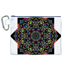 Mandala Abstract Geometric Art Canvas Cosmetic Bag (xl) by Amaryn4rt