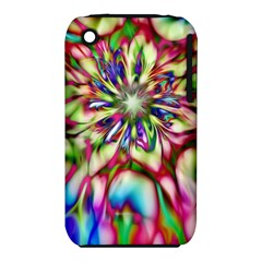 Magic Fractal Flower Multicolored Iphone 3s/3gs by EDDArt