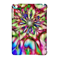 Magic Fractal Flower Multicolored Apple Ipad Mini Hardshell Case (compatible With Smart Cover) by EDDArt