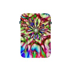 Magic Fractal Flower Multicolored Apple Ipad Mini Protective Soft Cases by EDDArt