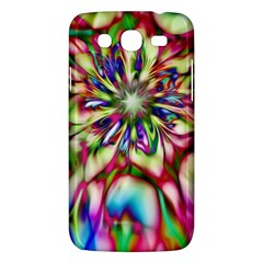 Magic Fractal Flower Multicolored Samsung Galaxy Mega 5 8 I9152 Hardshell Case  by EDDArt