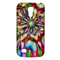 Magic Fractal Flower Multicolored Galaxy S4 Mini by EDDArt